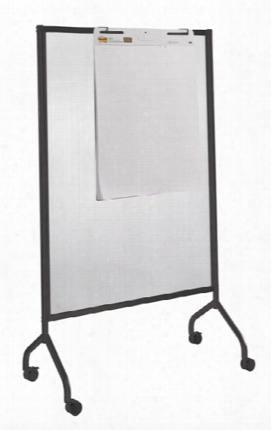 "Full Polycarbonate Screen, 42"" X 72"" By Safco Office Furniture"