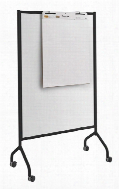 """Full Whiteboard Screen, 42"""" X 72"""" By Safco Office Furniture"""