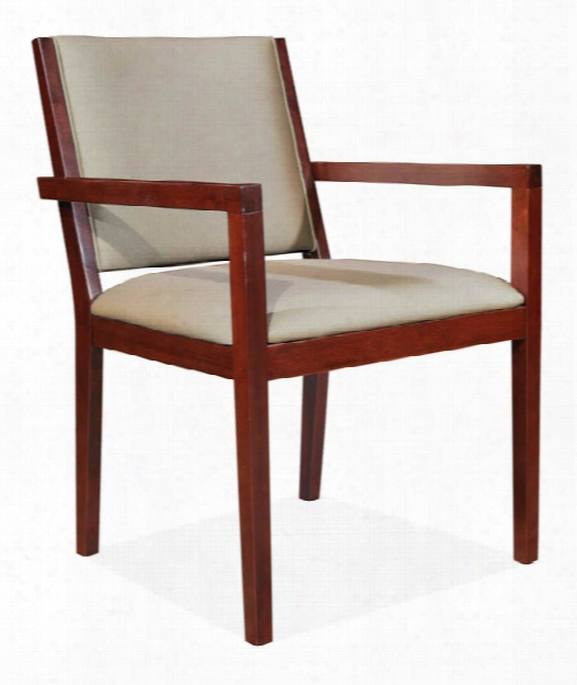 Fully Upholstered Guest Chair By Office Source