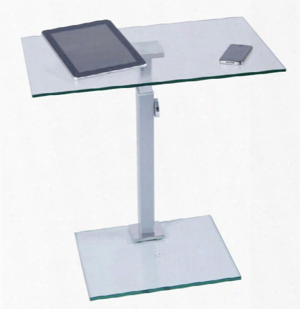 Glass And Aluminum Laptop Stand By Tier One Design