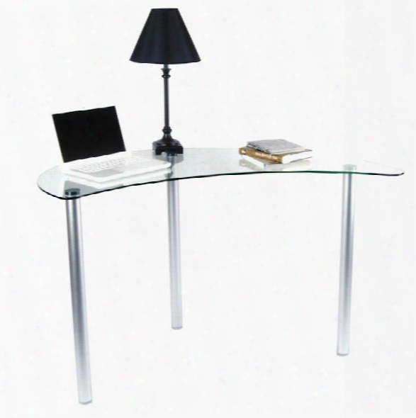 Glass Computer Desk By Tier One Design