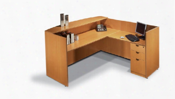 L Shaped Reception Desk By Offices To Go