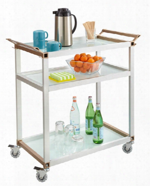 Large Refreshment Cart By Safco Office Furniture