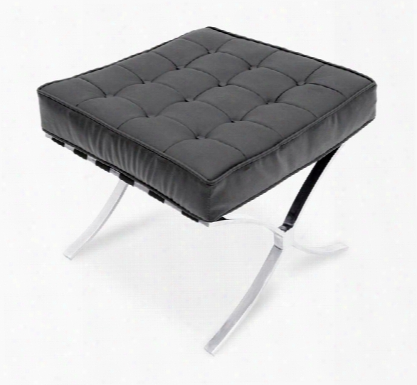 Leather Ottoman By Regency Furniture