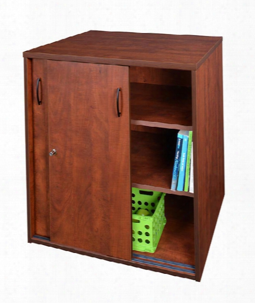Locking Storage Cabinet By Regency Furniture