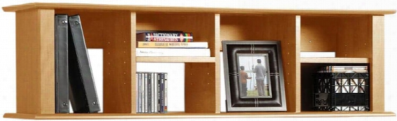 Maple Contemporary Wall Hutch By Prepac