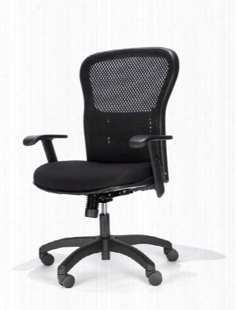 Mesh Back Chair With Air Mesh Fabric Seat By Rfm Seating