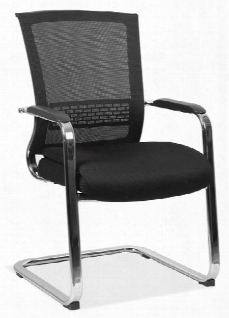 Mesh Sled Base Guest Chair By Office Source