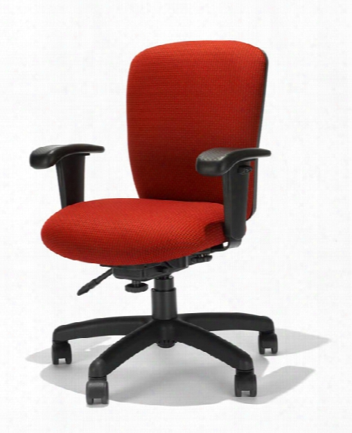 Mid Back Task Chair By Rfm Seating