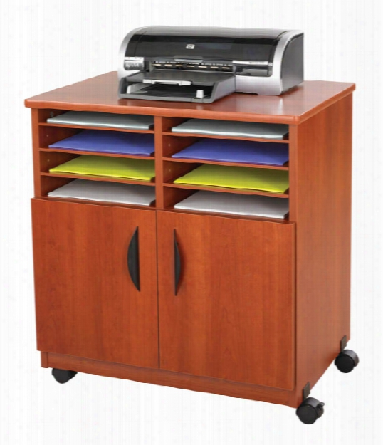 Mobile Machine Stand With Sorter By Safco Office Furniture