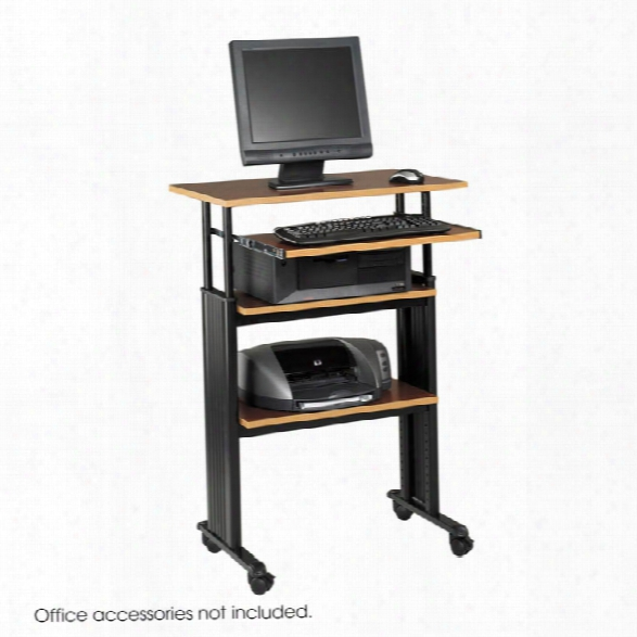 "Muvâ""¢ Stand-up Adjustable Height Desk By Safco Office Furniture"