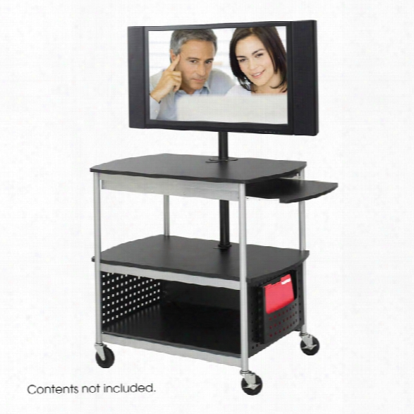 Open Flat Panel Multimedia Cart By Safco Office Furniture