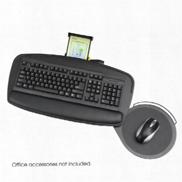 Premier Series Keyboard Platform With Control Zone By Safco Office Furniture