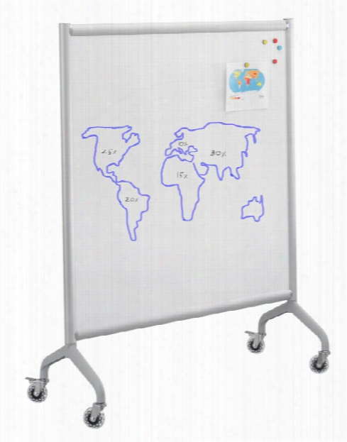 "Screen Whiteboard 42"" X 54"" By Safco Office Furniture"