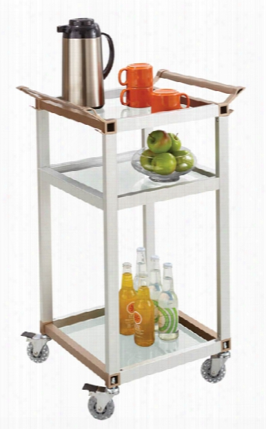 Small Refreshment Cart By Safco Office Furniture