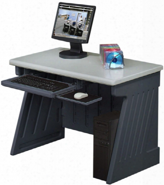 "Snap Ease 42"" Computer Desk By Iceberg"