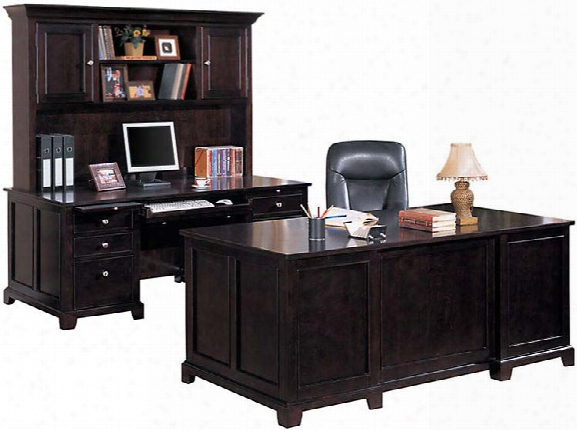 Solid Wood 3 Piece Office Set By Wilshire Furniture