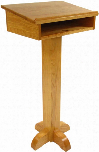 Solid Wood Pedestal Speakers Stand By Executive Wood Products
