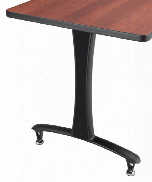 T-leg Caps - Black (2 Ea.) By Safco Office Furniture