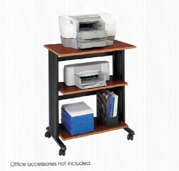 Three Level Adjustable Printer Stand By Safco Office Furniture