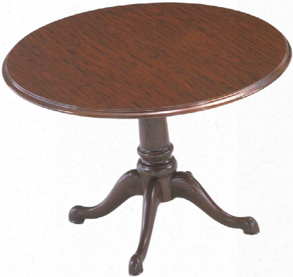 "Traditional 42"" Round Conference Table By Abco"