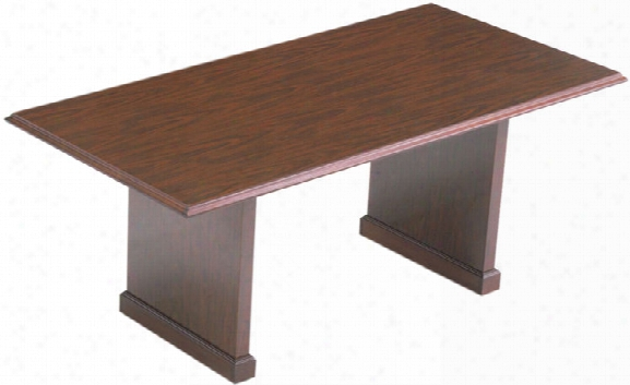 Traditional 6' Conference Table By Abco