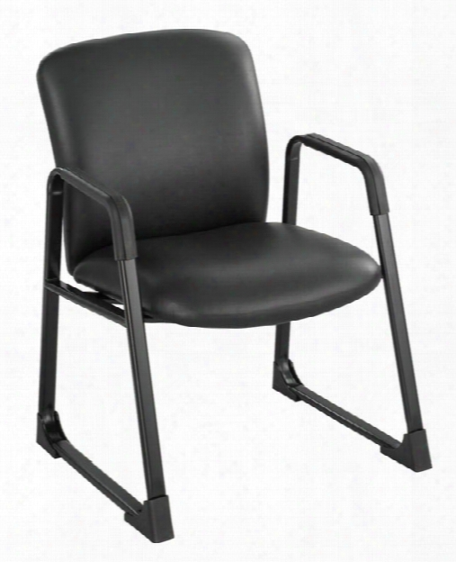 "Uberâ""¢ Big And Tall Guest Chair- Vinyl By Safco Office Funiture"