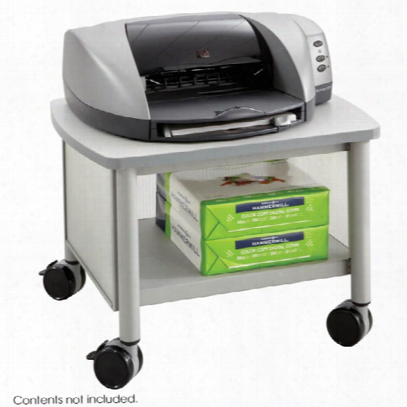 Under Table Mobile Printer Stand By Safco Office Furniture