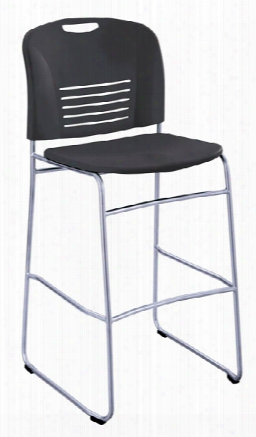 "Vyâ""¢ Bistro-height Sled Base Chair By Safco Office Furniture"