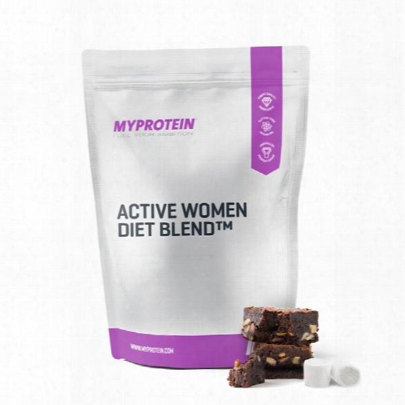 Active Woman Diet Blend - Chocolate Fudge Brownie - 1kg