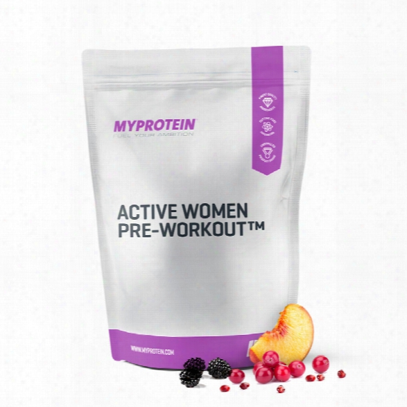 Active Woman Pre-workout - Peach Tea - 1.1lb (usa)