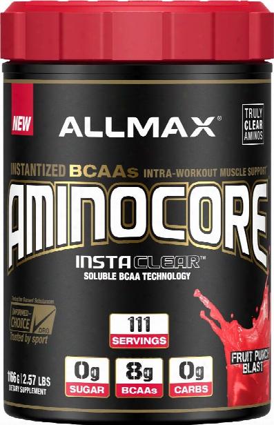 Allmax Nutrition Aminocore - 111 Servings Fruit Punch Blast