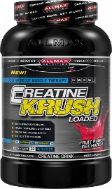 Allmax Nutrition Krush Loaded - 3.3lbs Fruit Punch Recharge