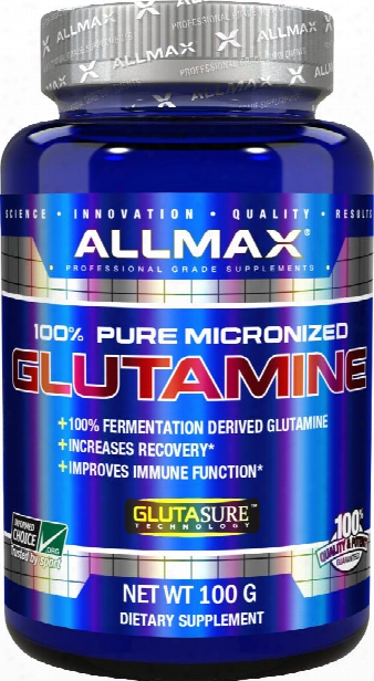 Allmax Nutrition Micronized Glutamine - 100g