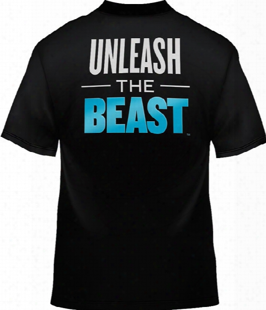 "Beast Sports Nutrition ""unleash The Beast"" T-shirt - Black Large"