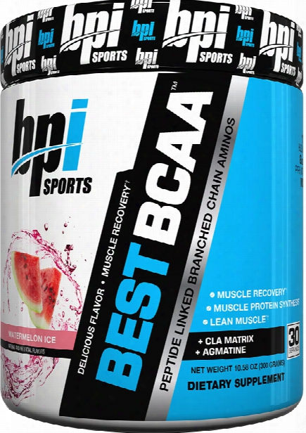 Bpi Sports Best Bcaa - 30 Servings Watermelon Ice