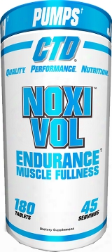 Ctd Sports Noxivol - 180 Tablets