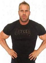 Cutler Athletics Old School T-shirt - Medium Black/black