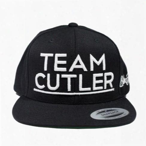 Cutler Athletisc Team Cutler Snapback - One Size Black/white