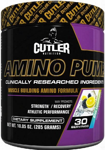 Cutler Nutrition Amino Pump - 30 Servings Blue Lemonade