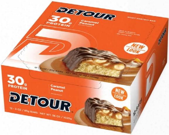 Detour Detour Bar - Box Of 12 - 85g Caramel Peanut