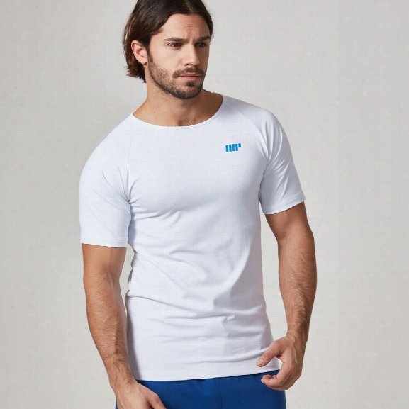 Dry-tech T-shirt - White, S