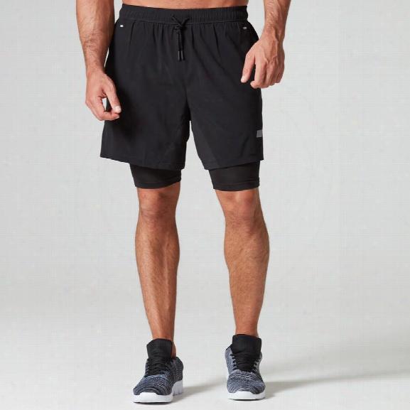 Dual Sport Shorts - Black - Xxl