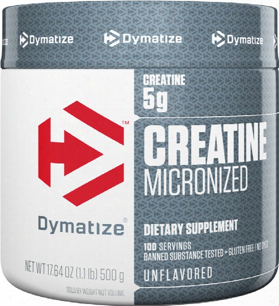 Dymatize Creatine Micronized - 500g Unflavored