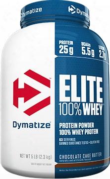 Dymatize Elite 100% Whey - 5lbs Strawberry Blast