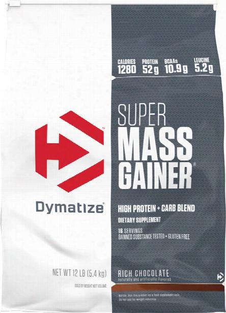 Dymatize Super Mass Gainer - 12lbs Rich Cho Colate