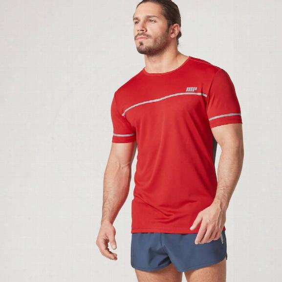Fast-track T-shirt - Red - Xxl
