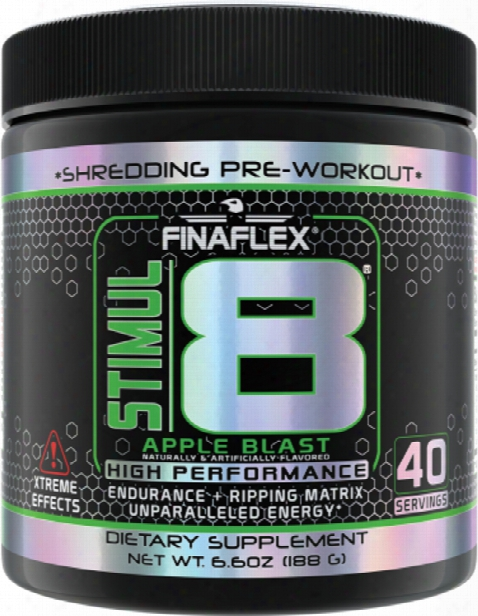 Finaflex Stimul8 - 40 Servings Apple Blast