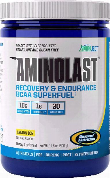 Gaspari Nutrition Aminolast - 30 Servings Lemon Ice