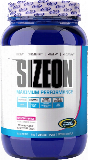 Gaspari Nutrition Sizeon Maximum Performance - 24 Servings Wild Berry